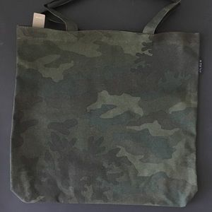 NWT camouflage tote bag JCrew